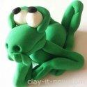 Franklin the Frog, wondering figure