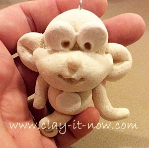 saltdough, monkey