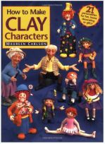 how to make clay characters, clay book by Maureen Carlson