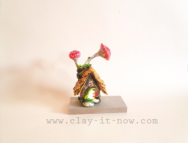 mini fairy house DIY idea and tutorial