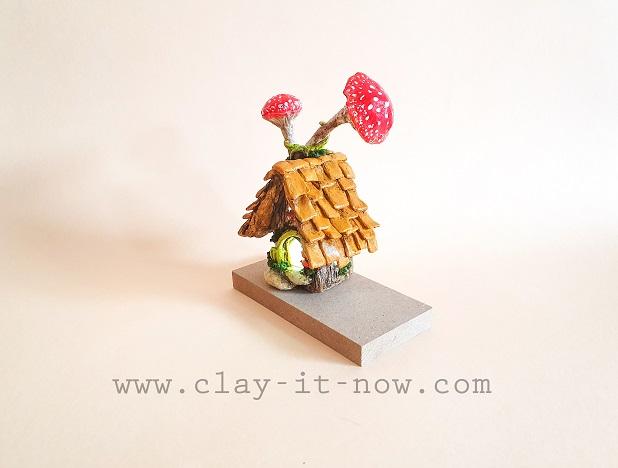 mini fairy house DIY idea and tutorial