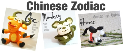 12 Animals in Chinese Zodiac