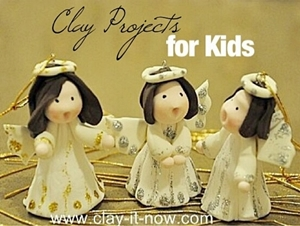 Clay Projects for Kids, easy clay projects