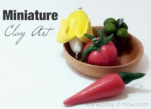 Miniature Clay Art