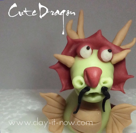 Cute Dragon figurine