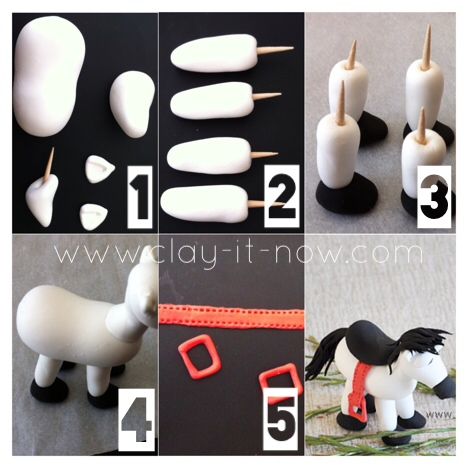 Horse Clay - how to make horse