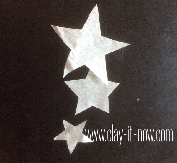 fourth of july craft for kids, upcycling potato chips can to flower vase - step 9