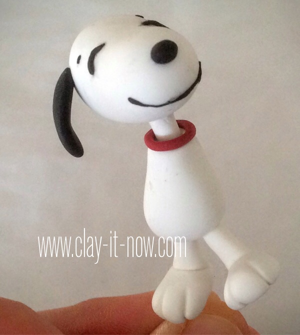 8104-Snoopy and Charlie Brown Figurine from Peanuts