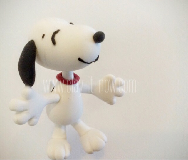 8113-Snoopy and Charlie Brown Figurine from Peanuts