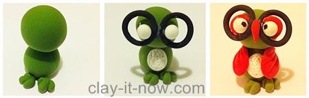 Little Owl clay