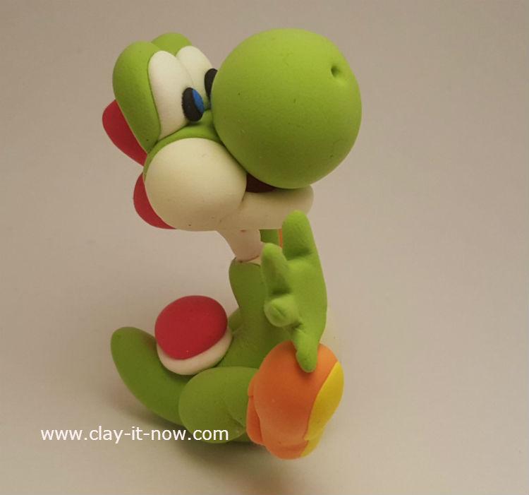Yoshi Clay In Green