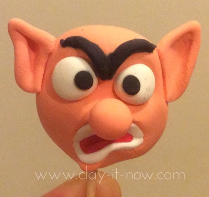 Angry Elf figurine - Christmas Decoration