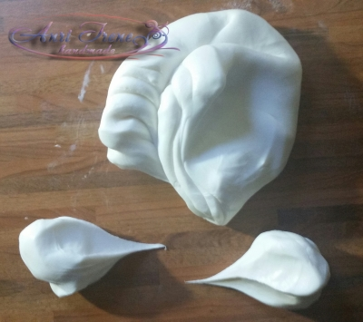 cold porcelain for flowers  - air dry clay for flowers-2