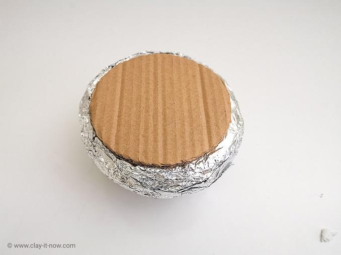 faux clay stone container jar - DIY Idea-4