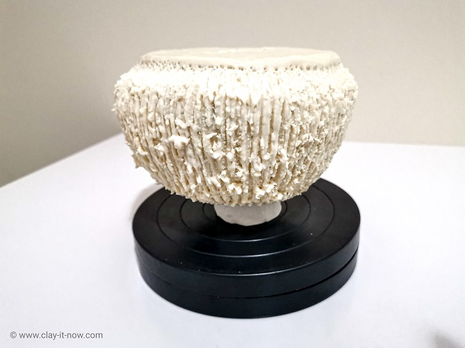 faux clay stone container jar - DIY Idea-5
