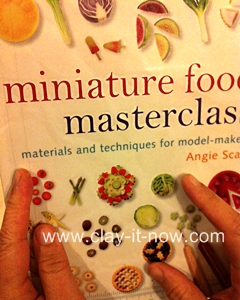 favoriteminiatureclaybooks, miniaturefoodmasterclass, bookdepository