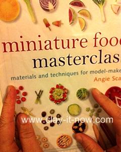 favoriteminiatureclaybooks, miniaturefoodmasterclass, bookdepository