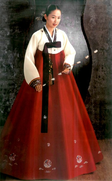 hanbok-korean traditional dress