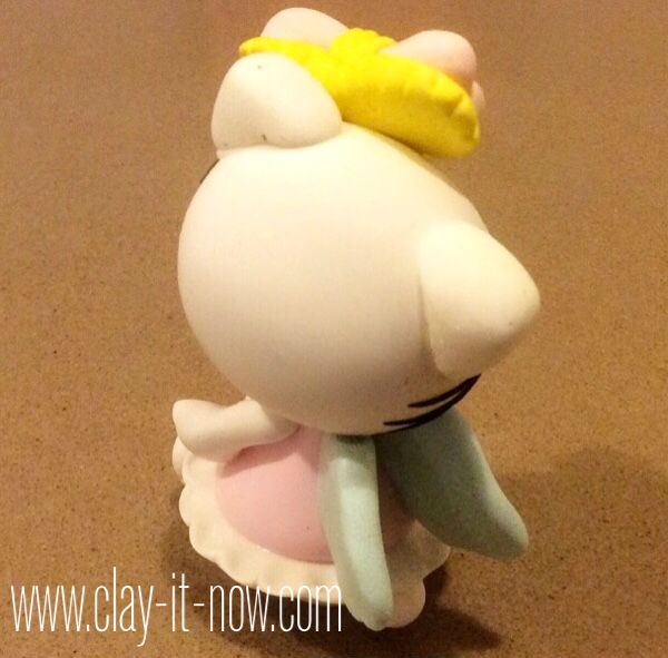 hello kitty figurine-story behind hello kitty-hello kitty angel-tutorial-3