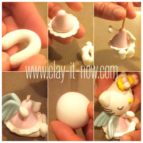 hello kitty figurine-story behind hello kitty-hello kitty angel-tutorial-1