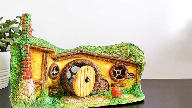 hobbit house clay - awesome hobbit hole - clayitnow