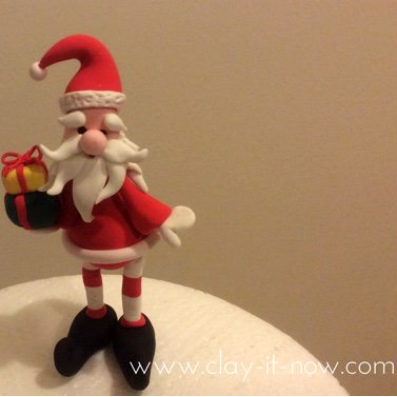 santa claus-fatherChristmas-decorations-clayitnow