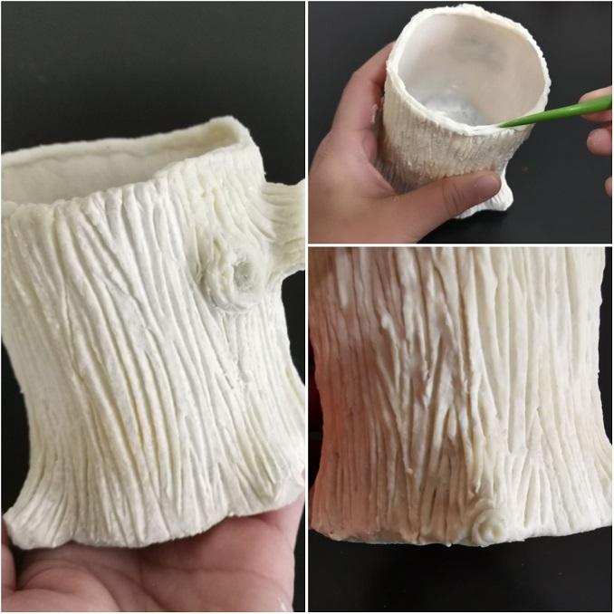 tree trunk clay tutorial-clayitnow-3