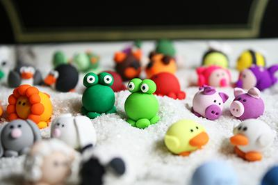 Image result for polymer clay small figures
