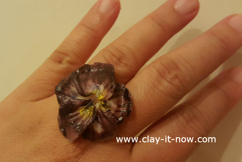 pansy clay flower tutorial-1
