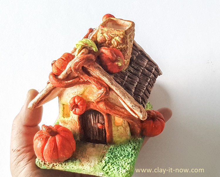little pumpkin cottage house diy - clayitnow