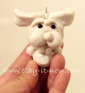 saltdough, rabbit