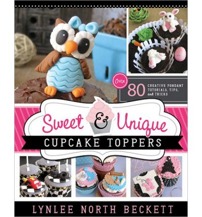 sweet and unique cupcakes toppers, cupcakes toppers