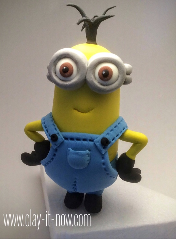 7635-minions 2015 figurine-kevin the minion