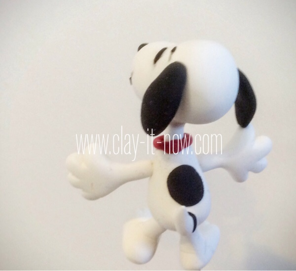8108-tail-Snoopy and Charlie Brown Figurine from Peanuts