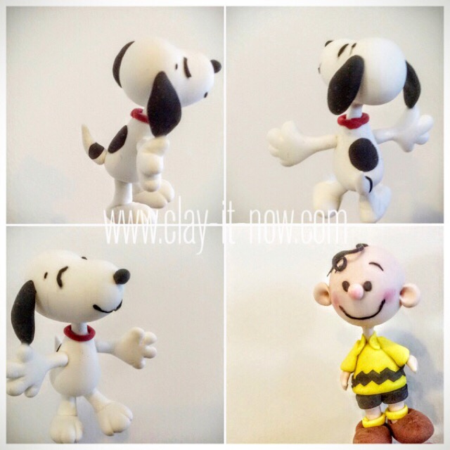 8124 - Snoopy and Charlie Brown Figurine from Peanuts