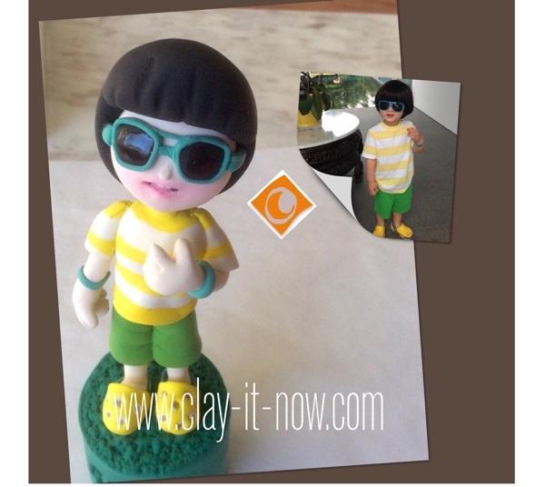 cool boy figurine, life-like figurine, boy figurine-1