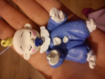 Sleeping Baby Figurine