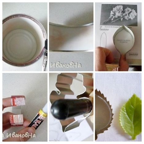 make your own cutters, clay cutters and cookies cutters, DIY cutters