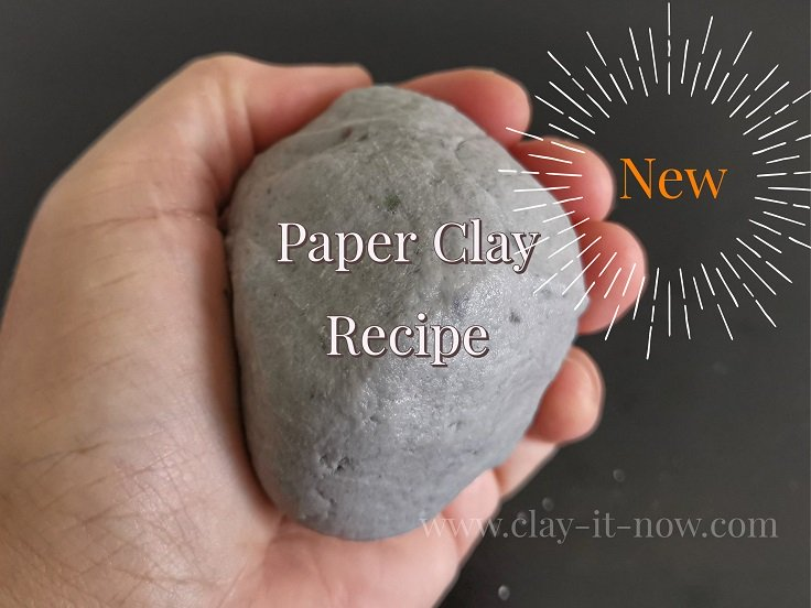 How to make strong paper clay without PVA glue or joint compound?