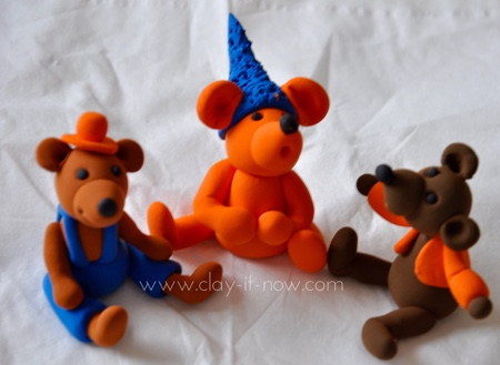 Clay Characters for Kids by Maureen Carlson